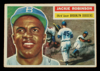 Jackie Robinson 1956 Topps #30 DP at PristineAuction.com