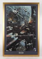Star Wars 22x30 Custom Framed 1977 Original Coca Cola Promotion Poster Display at PristineAuction.com