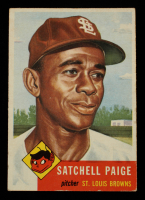 Satchel Paige 1953 Topps #220 at PristineAuction.com