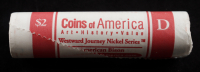 $2 Uncirculated US Westward Journey Commemorative American Bison Jefferson Nickels at PristineAuction.com