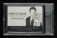 """Chevy Chase Signed """"Fletch"""" Custom Trading Card (BGS 10) at PristineAuction.com"""