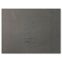"Erte Signed ""Mains noires, decor"" 13x10 Original Gauche Painting at PristineAuction.com"