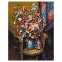 """Henri Plisson Signed """"Floral Symphony"""" Limited Edition 25x33 Serigraph on Canvas #29/95 at PristineAuction.com"""