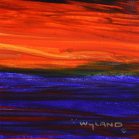 """Wyland Signed """"Whale Tail"""" 44x31 Custom Framed Original Painting on Canvas at PristineAuction.com"""