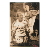 """Ringo Signed """"David Beckham"""" 12x16 One-of-a-Kind Hand-Pulled Silkscreen on Canvas at PristineAuction.com"""