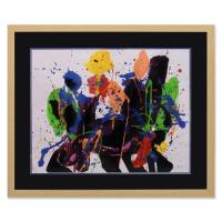 Jenik Cook Signed 36x30 Custom Framed Original Acrylic Painting at PristineAuction.com