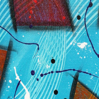 """George Marlowe Signed """"Breaking Through"""" 30x24 Original Acrylic Painting on Canvas at PristineAuction.com"""