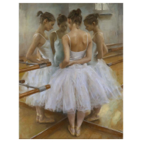 """Vicente Romero Signed """"Reflections of a Dancer"""" Limited Edition 28x21 Giclee on Canvas at PristineAuction.com"""