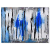 """David Ashouri Signed """"Beauty of Power"""" 48x36 Original Acrylic Painting on Canvas at PristineAuction.com"""