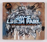 "Linkin Park ""Collision Course"" CD Cover Signed by (5) Chester Bennington, Mike Shinoda, Joe Hahn, Brad Delson, Rob Bourdon (Beckett LOA) (See Description) at PristineAuction.com"