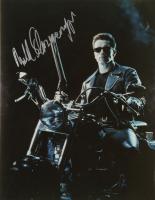 "Arnold Schwarzenegger Signed ""The Terminator"" 11x14 Photo (Beckett Hologram) (See Description) at PristineAuction.com"