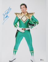 """Jason David Frank Signed """"Power Rangers"""" 11x14 Photo Inscribed """"Tommy"""" (Beckett COA) at PristineAuction.com"""