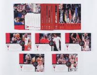 Michael Jordan 1997 Upper Deck The Jordan Championship Journals LE 3.5x5 Oversize Card Set at PristineAuction.com