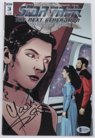 """Marina Sirtis Signed 2018 """"Star Trek: The Next Generation: Through The Mirror"""" Issue #3 IDW Comic Book (Beckett COA) (See Desciption) at PristineAuction.com"""