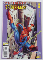 """Tom Holland Signed 2001 """"Ultimate Spider-Man"""" Issue #8 Ultimate Marvel Comic Book (Beckett COA) (See Desciption) at PristineAuction.com"""