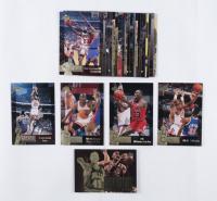 Michael Jordan 1996 Upper Deck Jordan Collection Blow-Up Insert Cards Complete Box Set at PristineAuction.com