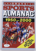 """Christopher Lloyd Signed """"Back to the Future Part II"""" Grays Sports Almanac: 1950-2000 Paperback Book (AutographCOA Hologram) (See Description) at PristineAuction.com"""