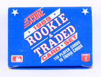 1989 Score Rookie & Traded Complete Set of (110) Baseball Cards (See Description) at PristineAuction.com