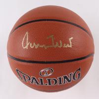 Jerry West Signed NBA Basketball (JSA Hologram) (See Description) at PristineAuction.com