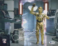 """Anthony Daniels Signed """"Star Wars"""" 8x10 Photo Inscribed """"C-3PO"""" (Beckett COA) at PristineAuction.com"""