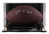 Chris Johnson Signed NFL Football with Display Case (Beckett COA) (See Description) at PristineAuction.com