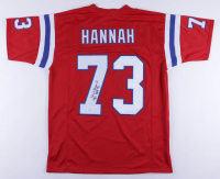 "John Hannah Signed Jersey Inscribed ""HOF 91"" (JSA COA) at PristineAuction.com"