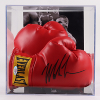 Mike Tyson Signed Pair of Boxing Gloves with Photo Display Case (PSA COA) at PristineAuction.com