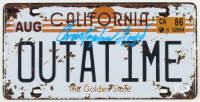 """Christopher Lloyd Signed """"Back to the Future"""" California License Plate (AutographCOA Hologram) (See Description) at PristineAuction.com"""