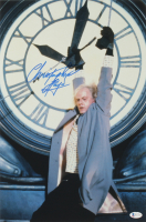 """Christopher Lloyd Signed """"Back To The Future II"""" 12x18 Movie Poster (Beckett COA) at PristineAuction.com"""