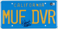 """Cheech Marin & Tommy Chong Signed """"Up in Smoke"""" License Plate (Beckett Hologram) (See Description) at PristineAuction.com"""
