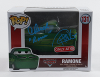 """Cheech Marin & Tommy Chong Signed """"Cars"""" #131 Ramone Funko Pop! Vinyl Figure Inscribed """"Ramone"""" (Beckett Hologram) (See Description) at PristineAuction.com"""