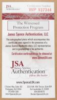 """Charlie Sheen Signed """"Major League"""" Indians 34x42 Custom Framed Jersey (JSA COA) (See Description) at PristineAuction.com"""
