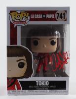 "Ursula Corbero Signed ""La Casa De Papel"" #741 Tokio Funko Pop! Vinyl Figure (Beckett Hologram) (See Description) at PristineAuction.com"