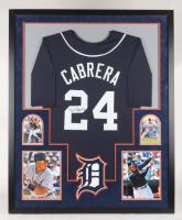 Miguel Cabrera Signed 35x43 Custom Framed Jersey (JSA COA) at PristineAuction.com