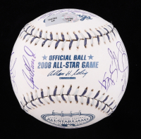 2008 All-Star Game Baseball Signed by (25) with Carlos Guillen, Carlos Quentin, Cliff Lee, Dustin Pedroia (MLB Hologram) at PristineAuction.com
