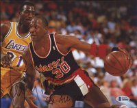 """Terry Porter Signed Trailblazers 8x10 Photo Inscribed """"2x All Star"""" (Beckett COA) at PristineAuction.com"""