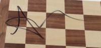 Anya Taylor-Joy Signed Chess Set Board (Beckett COA) (See Description) at PristineAuction.com