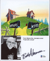 """Bob Abrams Signed """"Feud With A Dude"""" 8x10 Photo (Beckett COA) at PristineAuction.com"""