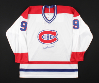 """Maurice """"Rocket"""" Richard Signed Canadiens Jersey (Beckett LOA) at PristineAuction.com"""
