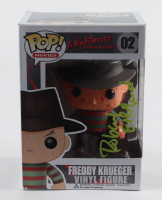 "Robert Englund Signed ""A Nightmare on Elm Street"" #02 Freddy Krueger Funko Pop! Vinyl Figurine (ACOA Hologram) (See Description) at PristineAuction.com"