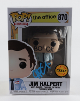 "John Krasinski Signed ""The Office"" #870 Jim Halpert Funko Pop! Vinyl Figurine (Beckett Hologram) at PristineAuction.com"