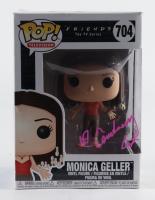 """Courtney Cox Signed """"Friends"""" #704 Monica Geller Funko Pop! Vinyl Figure (PSA Hologram) (See Description) at PristineAuction.com"""