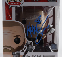 "Triple H Signed ""WWE"" Skull King #52 Funko Pop Vinyl Figure (Beckett Hologram) at PristineAuction.com"