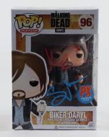"Norman Reedus & Greg Nicotero Signed ""The Walking Dead"" Biker Daryl #96 Funko Pop Vinyl Figure (Beckett Hologram) (See Description) at PristineAuction.com"