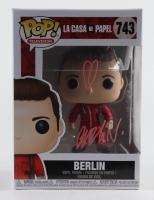 "Pedro Alonso Signed ""La Casa De Papel"" #743 Berlin Funko Pop! Vinyl Figure with Hand-Drawn Sketch (Beckett Hologram) (See Description) at PristineAuction.com"