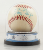 Willie Mays Signed 1979 All Star Game Baseball with High Quality Display Case (BGS Encapsulated) at PristineAuction.com