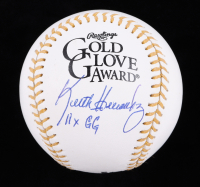 "Keith Hernandez Signed Gold Glove Award Baseball Inscribed ""11x GG"" (MAB Hologram) at PristineAuction.com"