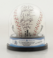 2011 National League All-Star Team Signed 2011 All Star Game Baseball with High Quality Display Case (BGS Encapsulated) at PristineAuction.com