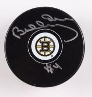 Bobby Orr Signed Bruins Logo Hockey Puck (Great North Road Marketing COA) at PristineAuction.com
