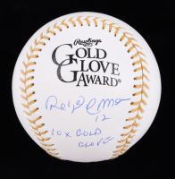 "Roberto Alomar Signed Gold Glove Award Baseball ""Inscribed 10x Gold Glove"" (MAB Hologram) at PristineAuction.com"